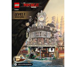 LEGO NINJAGO City Set 70620 Instructions