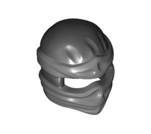 LEGO Ninjago Mask with Dark Stone Grey Wraps (19857)