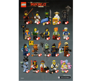LEGO Ninjago Series Minifigure - Random Bag Set 71019-0 Instructions