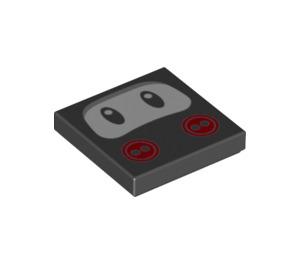 LEGO Ninji Tile 2 x 2 with Groove (3068 / 76896)
