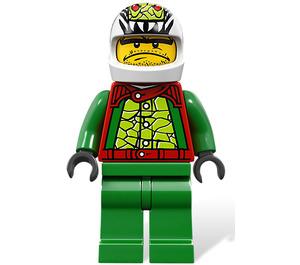 LEGO Nitro Nick race pilot Minifigure