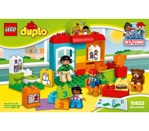 LEGO Nursery School Set 10833 Instructions