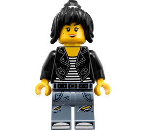 LEGO Nya - Leather Jacket and Jeans Outfit Minifigure
