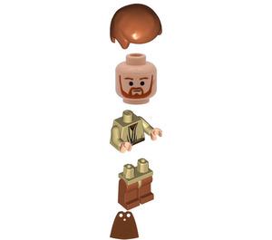 LEGO Obi-Wan Kenobi with Dark Orange Legs Minifigure