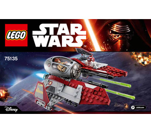 LEGO Obi-Wan's Jedi Interceptor Set 75135 Instructions