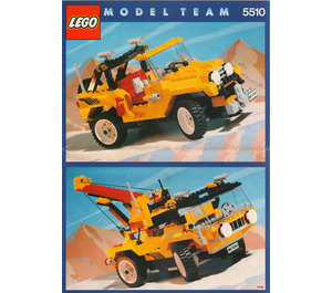 LEGO Off-Road 4 x 4 Set 5510 Instructions