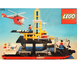 LEGO Offshore Rig with Fuel Tanker Set 373-1
