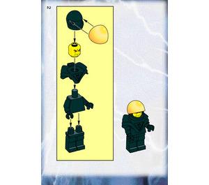 LEGO Ogel Command Striker Set 6771 Instructions