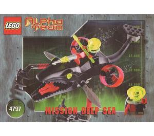LEGO Ogel Mutant Killer Whale Set 4797
