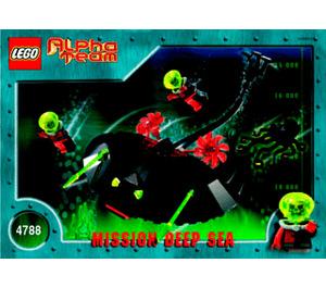 LEGO Ogel Mutant Ray Set 4788 Instructions