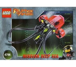 LEGO Ogel Mutant Squid Set 4796