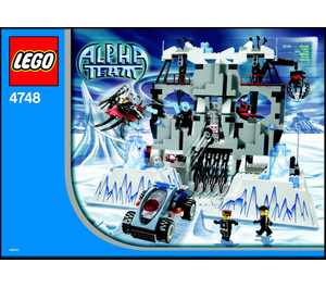 LEGO Ogel's Mountain Fortress Set 4748 Instructions