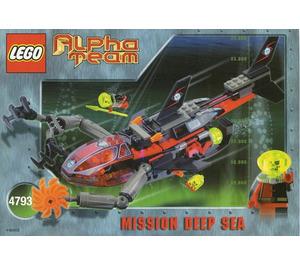 LEGO Ogel Shark Sub Set 4793