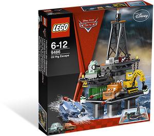 LEGO Oil Rig Escape Set 9486 Packaging