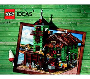 LEGO Old Fishing Store Set 21310 Instructions