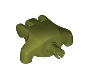 LEGO Olive Green Rancor Paw (11327)