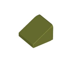 LEGO Olive Green Slope 1 x 1 (31°) (54200)