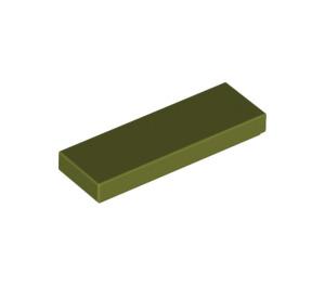 LEGO Olive Green Tile 1 x 3 (63864)