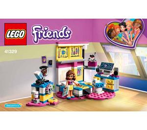 LEGO Olivia's Deluxe Bedroom Set 41329 Instructions