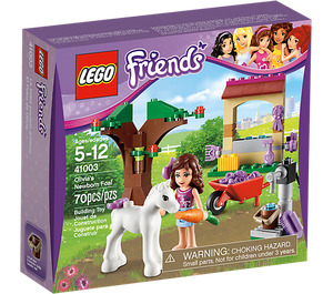 LEGO Olivia's Newborn Foal Set 41003 Packaging