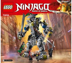 LEGO Oni Titan Set 70658 Instructions