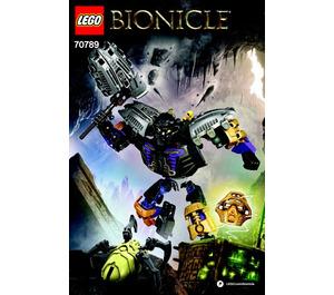 LEGO Onua - Master of Earth Set 70789 Instructions