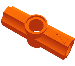 LEGO Orange Angle Connector #2 (180º) (32034 / 42134)