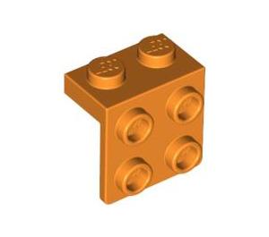LEGO Orange Bracket 1 x 2 - 2 x 2 (21712 / 44728)