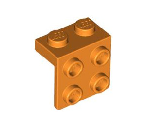 LEGO Orange Bracket 1 x 2 - 2 x 2 (21712 / 44728 / 92411)