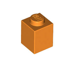 LEGO Orange Brick 1 x 1 (3005)