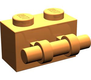 LEGO Orange Brick 1 x 2 with Handle