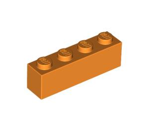 LEGO Orange Brick 1 x 4 (3010)