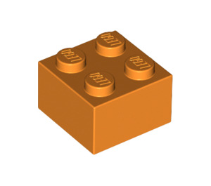 LEGO Orange Brick 2 x 2 (3003)