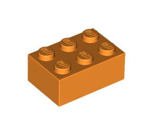 LEGO Orange Brick 2 x 3 (3002)