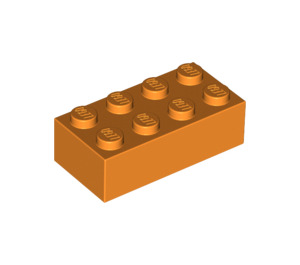 LEGO Orange Brick 2 x 4 (3001)