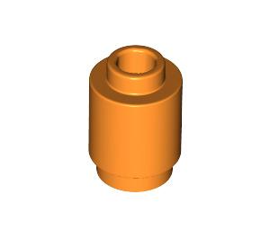 LEGO Orange Brick Round 1 x 1 with Open Stud (3062)