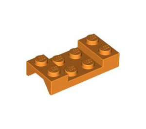LEGO Orange Car Mudguard 2 x 4 without Hole (3788)