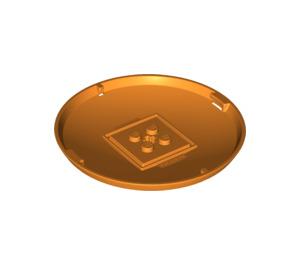 LEGO Orange Container Storage X-Pod Base  (47676)