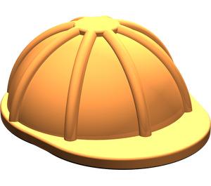LEGO Orange Minifig Construction Helmet