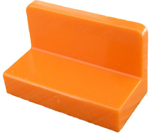 LEGO Orange Panel 1 x 2 x 1 with Rounded Corners (4865)