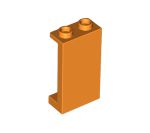 LEGO Orange Panel 1 x 2 x 3 with Side Supports - Hollow Studs (87544)