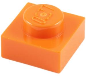 LEGO Orange Plate 1 x 1 (3024)