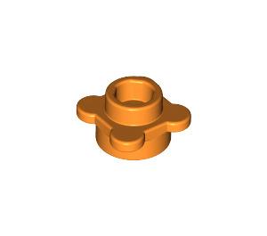 LEGO Orange Plate 1 x 1 Round with Tabs (28573 / 33291)