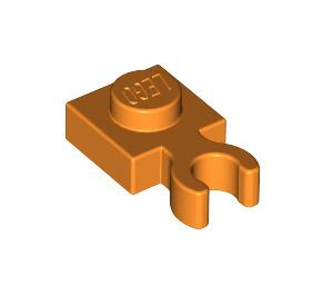 LEGO Orange Plate 1 x 1 with Vertical Clip (Thick 'U' Clip) (60897)