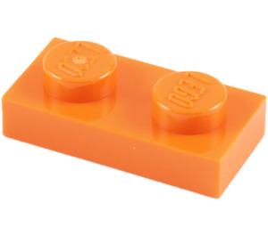 LEGO Orange Plate 1 x 2 (3023)