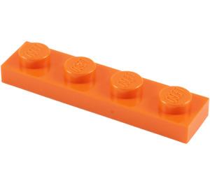 LEGO Orange Plate 1 x 4 (3710)