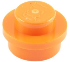 LEGO Orange Round Plate 1 x 1 (6141)