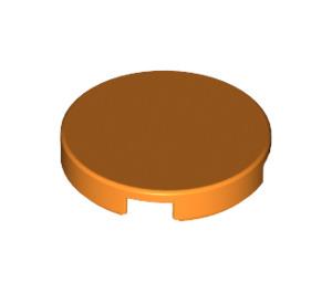 LEGO Orange Round Tile 2 x 2 with Bottom Stud Holder (14769)