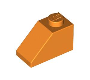 LEGO Orange Slope 1 x 2 (45°) (3040)
