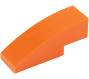 LEGO Orange Slope 1 x 3 Curved (50950)